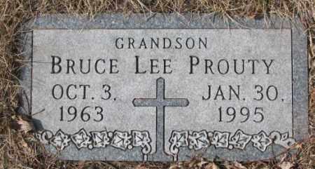 PROUTY, BRUCE LEE - Yankton County, South Dakota | BRUCE LEE PROUTY - South Dakota Gravestone Photos
