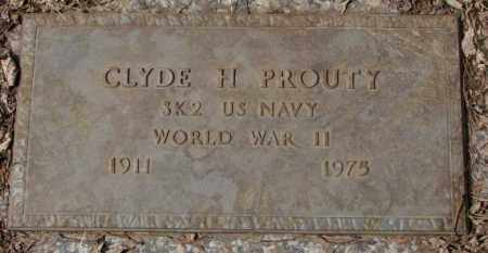 PROUTY, CYLE H. - Yankton County, South Dakota | CYLE H. PROUTY - South Dakota Gravestone Photos