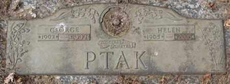 PTAK, GEORGE - Yankton County, South Dakota | GEORGE PTAK - South Dakota Gravestone Photos