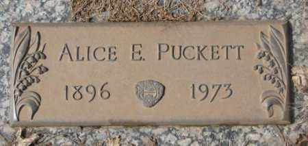 PUCKETT, ALICE E. - Yankton County, South Dakota   ALICE E. PUCKETT - South Dakota Gravestone Photos