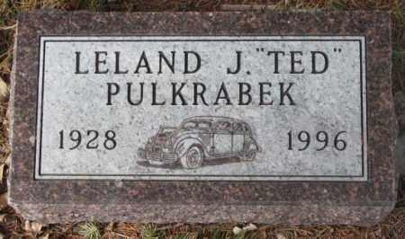 "PULKRABEK, LELAND J. ""TED"" - Yankton County, South Dakota | LELAND J. ""TED"" PULKRABEK - South Dakota Gravestone Photos"