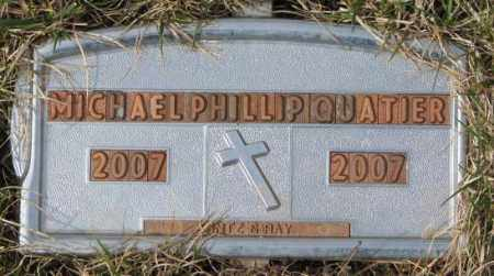 QUATIER, MICHAEL PHILLIP - Yankton County, South Dakota | MICHAEL PHILLIP QUATIER - South Dakota Gravestone Photos