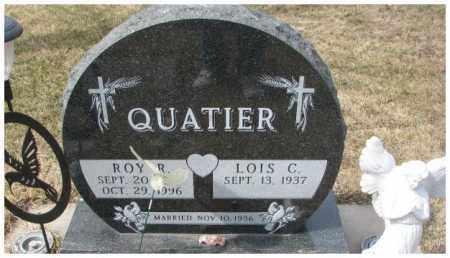 QUATIER, ROY R. - Yankton County, South Dakota | ROY R. QUATIER - South Dakota Gravestone Photos