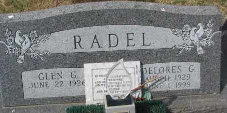 RADEL, DELORES G. - Yankton County, South Dakota | DELORES G. RADEL - South Dakota Gravestone Photos