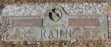 RAHN, AUGUST H. - Yankton County, South Dakota   AUGUST H. RAHN - South Dakota Gravestone Photos