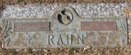 RAHN, OLGA M. - Yankton County, South Dakota | OLGA M. RAHN - South Dakota Gravestone Photos