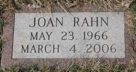 RAHN, JOAN - Yankton County, South Dakota | JOAN RAHN - South Dakota Gravestone Photos