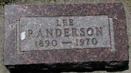 RANDERSON, LEE - Yankton County, South Dakota   LEE RANDERSON - South Dakota Gravestone Photos