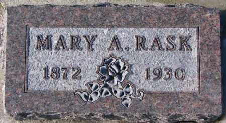 RASK, MARY A. - Yankton County, South Dakota | MARY A. RASK - South Dakota Gravestone Photos