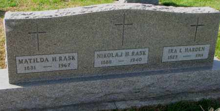 HARDEN, IRA L. - Yankton County, South Dakota | IRA L. HARDEN - South Dakota Gravestone Photos