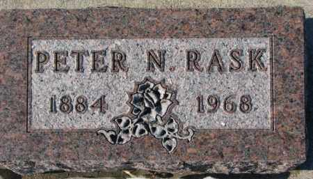 RASK, PETER N. - Yankton County, South Dakota | PETER N. RASK - South Dakota Gravestone Photos