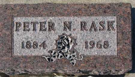 RASK, PETER N. - Yankton County, South Dakota   PETER N. RASK - South Dakota Gravestone Photos