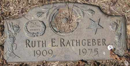 RATHGEBER, RUTH E. - Yankton County, South Dakota | RUTH E. RATHGEBER - South Dakota Gravestone Photos
