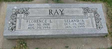 RAY, LELAND A. - Yankton County, South Dakota   LELAND A. RAY - South Dakota Gravestone Photos