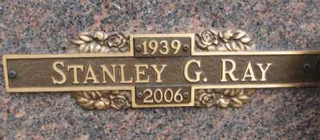 RAY, STANLEY G. - Yankton County, South Dakota | STANLEY G. RAY - South Dakota Gravestone Photos