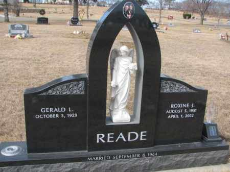 READE, GERALD L. - Yankton County, South Dakota | GERALD L. READE - South Dakota Gravestone Photos