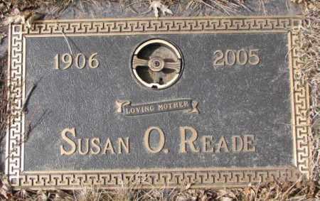 READE, SUSAN O. - Yankton County, South Dakota   SUSAN O. READE - South Dakota Gravestone Photos