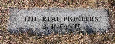 *REAL PIONEERS, 3 INFANTS - Yankton County, South Dakota | 3 INFANTS *REAL PIONEERS - South Dakota Gravestone Photos