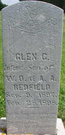 REDFIELD, GLEN C. - Yankton County, South Dakota   GLEN C. REDFIELD - South Dakota Gravestone Photos