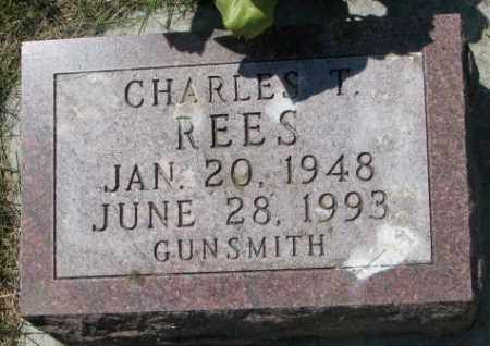REES, CHARLES T. - Yankton County, South Dakota | CHARLES T. REES - South Dakota Gravestone Photos