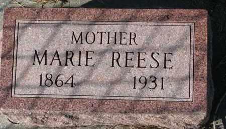 REESE, MARIE - Yankton County, South Dakota   MARIE REESE - South Dakota Gravestone Photos