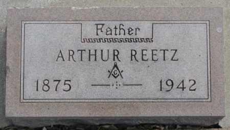 REETZ, ARTHUR - Yankton County, South Dakota | ARTHUR REETZ - South Dakota Gravestone Photos