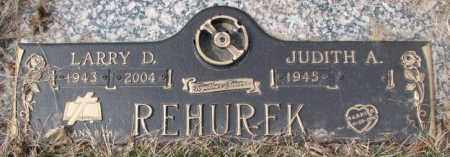REHUREK, JUDITH A. - Yankton County, South Dakota | JUDITH A. REHUREK - South Dakota Gravestone Photos