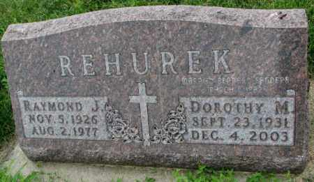 REHUREK-SANDERS, DOROTHY M. - Yankton County, South Dakota | DOROTHY M. REHUREK-SANDERS - South Dakota Gravestone Photos