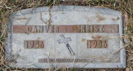 REISZ, DANVER - Yankton County, South Dakota | DANVER REISZ - South Dakota Gravestone Photos