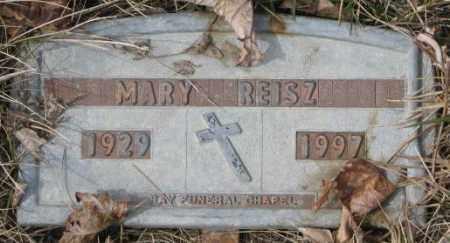 REISZ, MARY - Yankton County, South Dakota | MARY REISZ - South Dakota Gravestone Photos