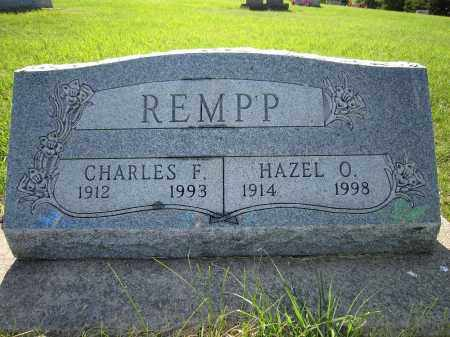 REMPP, CHARLES F. - Yankton County, South Dakota   CHARLES F. REMPP - South Dakota Gravestone Photos