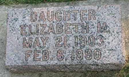 REMPP, ELIZABETH M. - Yankton County, South Dakota | ELIZABETH M. REMPP - South Dakota Gravestone Photos