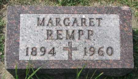 REMPP, MARGARET - Yankton County, South Dakota | MARGARET REMPP - South Dakota Gravestone Photos