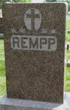 REMPP, PLOT - Yankton County, South Dakota | PLOT REMPP - South Dakota Gravestone Photos
