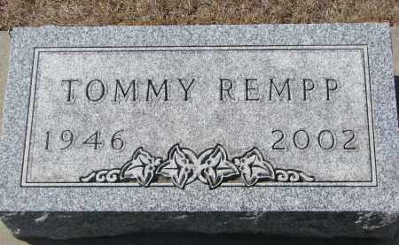 REMPP, TOMMY - Yankton County, South Dakota | TOMMY REMPP - South Dakota Gravestone Photos