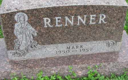 RENNER, MARK - Yankton County, South Dakota | MARK RENNER - South Dakota Gravestone Photos