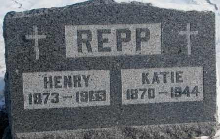 REPP, HENRY - Yankton County, South Dakota | HENRY REPP - South Dakota Gravestone Photos