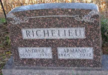 RICHELIEU, ANDREA - Yankton County, South Dakota | ANDREA RICHELIEU - South Dakota Gravestone Photos
