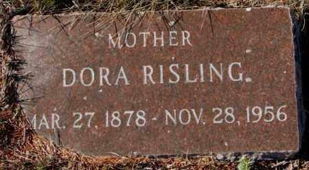 RISLING, DORA - Yankton County, South Dakota | DORA RISLING - South Dakota Gravestone Photos