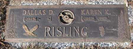 RISLING, DALLAS D. - Yankton County, South Dakota | DALLAS D. RISLING - South Dakota Gravestone Photos