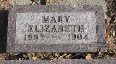 RISLING, MARY ELIZABETH - Yankton County, South Dakota | MARY ELIZABETH RISLING - South Dakota Gravestone Photos