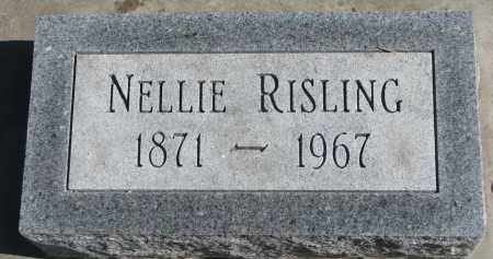 RISLING, NELLIE - Yankton County, South Dakota | NELLIE RISLING - South Dakota Gravestone Photos