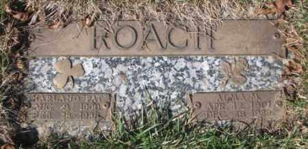 ROACH, ALMA M. - Yankton County, South Dakota | ALMA M. ROACH - South Dakota Gravestone Photos