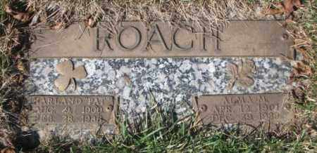 "ROACH, HARLAND ""PAT"" - Yankton County, South Dakota 