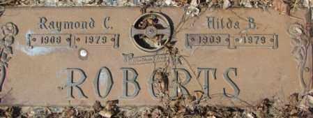 ROBERTS, HILDA B. - Yankton County, South Dakota | HILDA B. ROBERTS - South Dakota Gravestone Photos