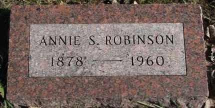 ROBINSON, ANNIE S. - Yankton County, South Dakota | ANNIE S. ROBINSON - South Dakota Gravestone Photos