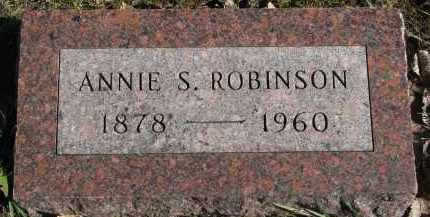 ROBINSON, ANNIE S. - Yankton County, South Dakota | ANNIE S. ROBINSON - South Dakota Gravestone Photos