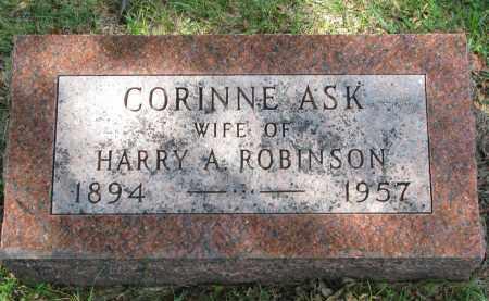 ROBINSON, CORINE - Yankton County, South Dakota | CORINE ROBINSON - South Dakota Gravestone Photos
