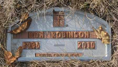 ROBINSON, DON - Yankton County, South Dakota | DON ROBINSON - South Dakota Gravestone Photos