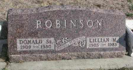 ROBINSON, LILLIAN M. - Yankton County, South Dakota | LILLIAN M. ROBINSON - South Dakota Gravestone Photos